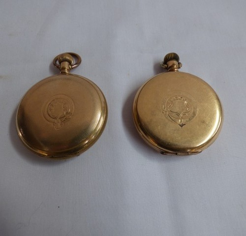 Gold Vintage Fob Watches